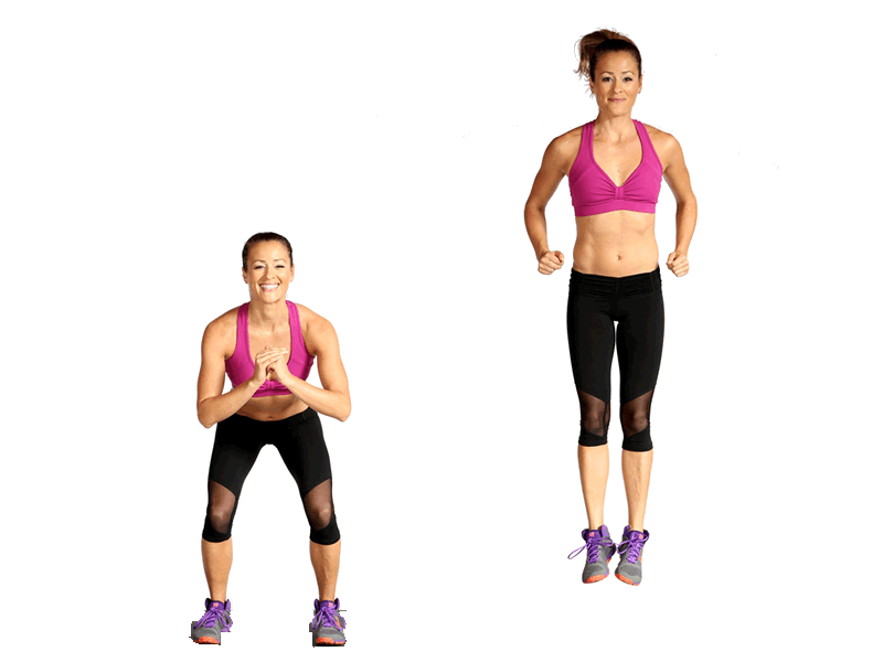 exercicios-para-queimar-barriga-agachamento-salto